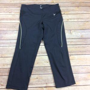Old Navy Active gray workout Capri pants leggings